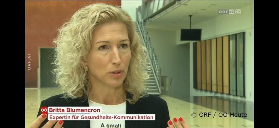 Der ORF berichtete vom Kongress der Ordensspitäler in Linz und der sich zuspitzenden Situation in den Spitälern: