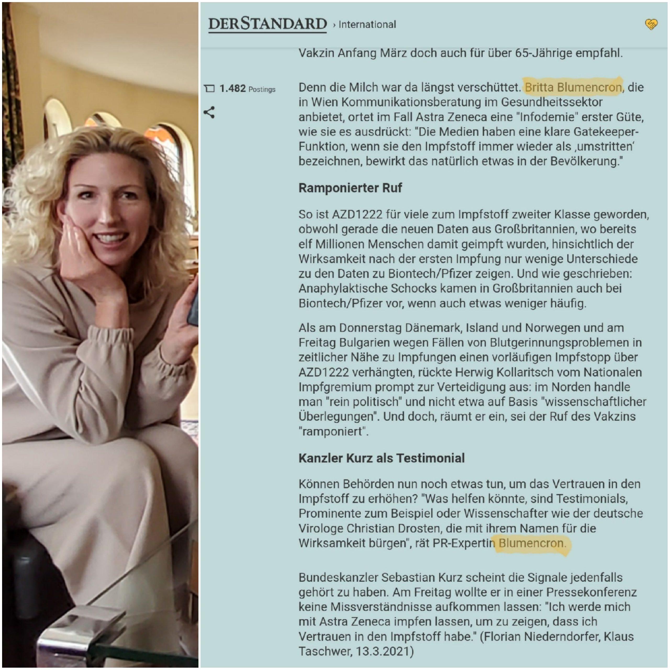 """Vom Primus zum Paria """"Der Standard"""" bringt's in der heutigen Ausgabe am Punkt"""